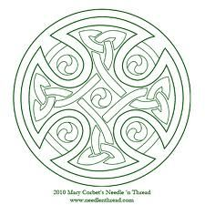 Celtic Cross You can use a photocopier or photo editing software to scale the image up or down. Heres a PDF version: Celtic Cross Design for Hand Embroidery Cross Stitch Embroidery, Hand Embroidery, Cross Stitch Patterns, Machine Embroidery, Embroidery Designs, Embroidery Patterns Free, Flower Embroidery, Vintage Embroidery, Celtic Symbols