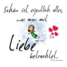 #Schön ist eigentlich alles,was man mit #Liebe ❤️ betrachtet. In diesem #Sinne…