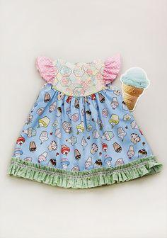 Lemon Cupcake Flutter Dress Matilda Jane Platinum
