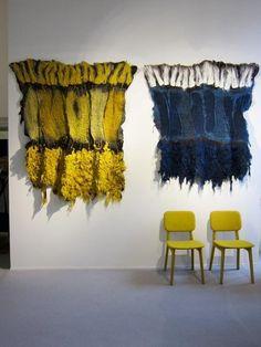 claudy jongstra felt designer and artist & gutter man house Felt Wall Hanging, Weaving Wall Hanging, Wall Hangings, Textile Fiber Art, Textile Artists, Felt Pictures, Creative Textiles, Wool Art, Fabric Manipulation