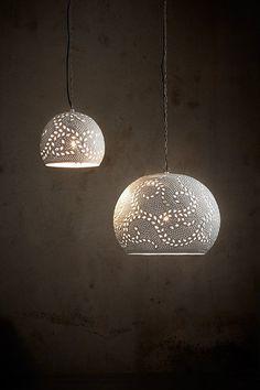 Coral Pendant Light Matt White in 26cm by Zaffero | GoLights.com.au