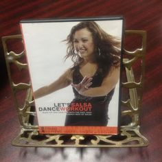 LETS SALSA DANCE WORKOUT DVD, FAST, HIGH ENERGY FAT BURN, FITNESS ESSENTIAL #FitnessEssentials