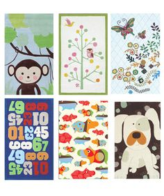 carpets for kids' room  MY GIRLS LOVE MONKEYS!! :)