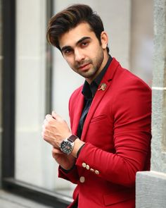 BCL: Shraddha Arya crushes on Abhishek Verma How To Wear Denim Jacket, Groom Wedding Dress, Wedding Outfits, Indian Groom Wear, Classy Couple, Photography Poses For Men, Awesome Beards, Casual Blazer, Tv Actors