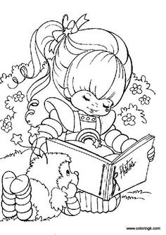 Rainbow brite Coloring Pages Online | Rainbow Brite Coloring Page 76