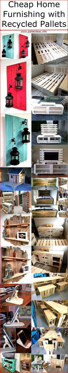 It is not necessary to spend a lot of money on the new home when it comes to decorating it and getting the furniture for the daily use. Some people who have the pallets and know how to use them for making the reclaimed wood pallets furniture for the home are lucky, while those who don't have them at home can get them at low rate for home furnishing. One can create a bed with the pallets, can make a pet home using them and can also make an entertainment center which adds to the grace of the…