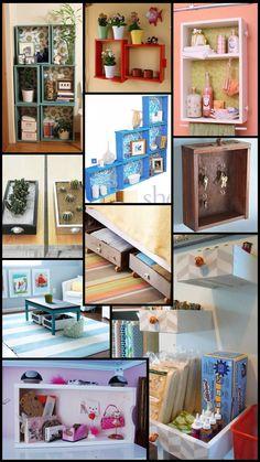 A Roupa Perfeita: Reciclando gavetas