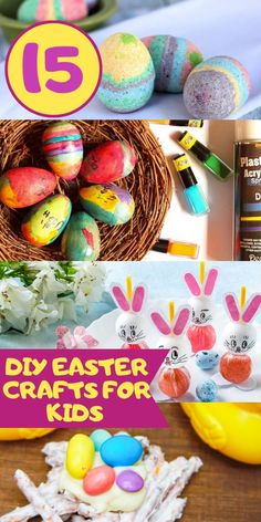 Easter is around the corner and I am trying to drum up some new DIY Easter crafts for the kids. They love Easter, more than Valentine's Day, so we try to make it a big Easter Crafts For Kids, Diy For Kids, Easter Ideas, Lollipop Craft, Diy Easter Decorations, Easter Centerpiece, Centerpieces, Fun Crafts To Do, Easy Crafts