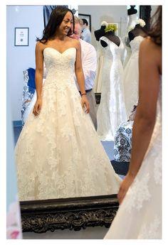 Love this dress!!! David Tutera for Mon Cheri