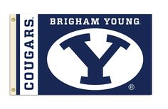 NCAA Brigham Young Cougars 3 Ft. X 5 Ft. Flag W/Grommets