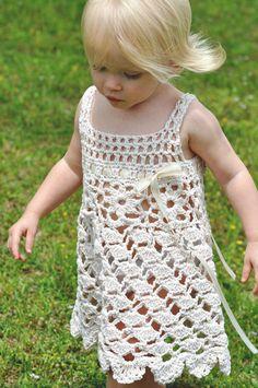 Crochet Baby Dress Pattern Crochet Toddler Dress Pattern