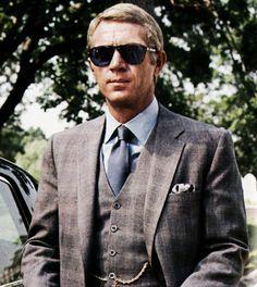 Steve McQueen #stylish dude.