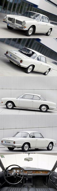 1962 BMW 3200 CS / Bertone / 603pcs / 160hp V8 / Germany / white