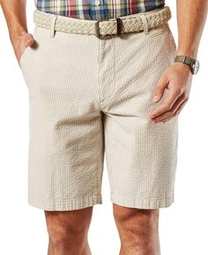 Dockers Men's Seersucker Shorts, Classic Fit - Brought to you by Avarsha.com