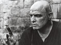 <> Marlon Brando in Apocalypse now (1979)