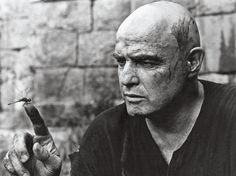 <> Marlon Brando in Apocalypse now (1979)