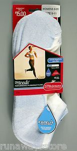 TWO Pair 2014 PRO TREDS® Women's BLUE Performance Running Cycling Socks, MEDIUM. Only $3.99/pair.