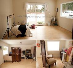 Keri Meyers' Studio Space - small but perfect!