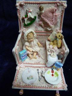 Baby girl trousseau made by Akke Ris