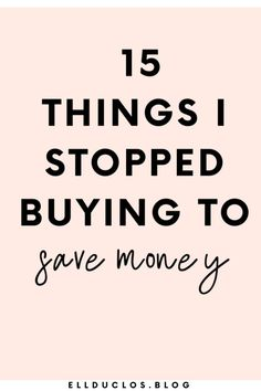 Save money and stop buying these 15 items! - Are you wasting your money? - Finance tips, saving money, budgeting planner Best Money Saving Tips, Money Saving Challenge, Money Tips, Saving Money, Money Budget, Savings Challenge, Save Money On Groceries, Ways To Save Money, Budgeting Finances