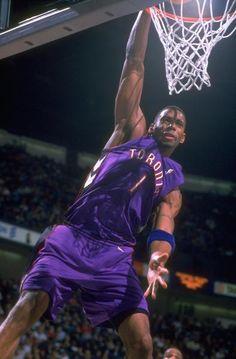 Dunk : Rare photos of Tracy McGrady Basketball Is Life, Nba Basketball, Toronto Raptors, Rap City, Tracy Mcgrady, Shooting Guard, Nba Players, Rare Photos, Netball