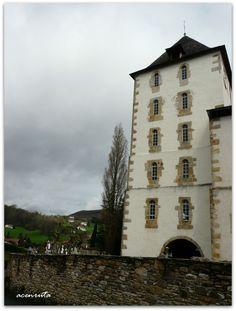 Sara (Sare). Torre de la iglesia