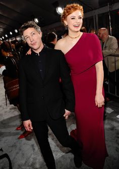 Sophie Turner and Aidan Gillen attend the premiere of HBO's 'Game Of Thrones' Season 6 at the Roosevelt Hotel on April 10, 2016 in Hollywood, California.