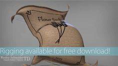Free Rig - Flour Sack (2013) by Wesley Schneider. Maya 2012