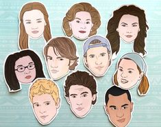 The Gilmore Girls are back! More than 14 of the best Gilmore Girls themed gifts for the Stars Hollow addict in your life. Kristina Webb Drawings, Gilmore Girls Characters, Gilmore Girls Gifts, Team Logan, Best Friend Day, Girl Themes, Character Illustration, Girl Gifts, Character Design