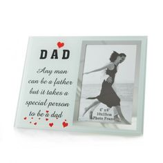 Biely fotorámček s citátom - domtextilu. Special Person, Dads, Cover, Frame, Books, Picture Frame, Libros, Book, Special People