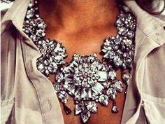 096b8bdda crystal necklace Cikánské Šperky, Móda, Šperky, Příslušenství A Doplňky