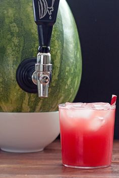 Recipe including course(s): Side; and ingredients:6 mint leaves, 1.5T sugar, 3/4 c vodka, watermelon