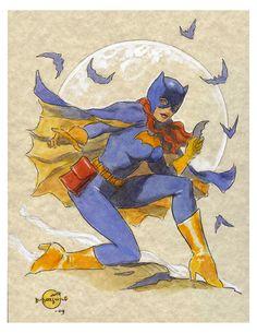 Batgirl by Dan Morton