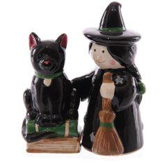 Peper en zoutstel Heks en kat