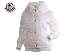 2015 New Cheap Moncler Online Store. Featured Jacket Down For Womens White Outlet UK