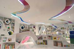 Espacios Cool para Niños: Librería Kids Republic en Beijing