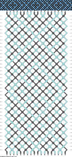 18 strings, 40 rows, 2 colors