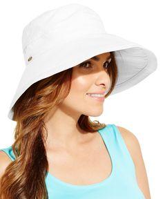 Dorfman Pacific Cotton Big Brim Sun Hat