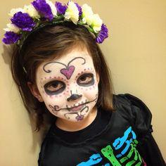 Niños disfraces maquillaje catrina calavera kid Hallowen