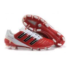 reputable site ae462 aae08 Adidas Predator XI TRX FG noir blanc rouge