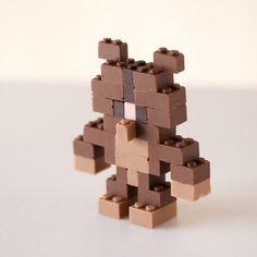 Artist Creates Functional Chocolate LEGO Blocks