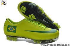 Cheap Nike Mercurial Vapor Superfly III FG Brazil Home Team Soccer Boots For Sale