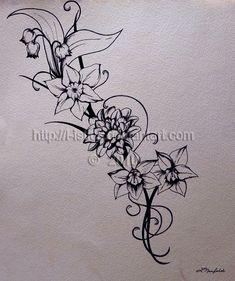birth flower tattoo | December Narcissus Flower Tattoos Tattoo ...