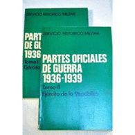PARTES OFICIALES DE GUERRA 1936-1939