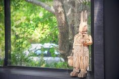 Hello Mr. Rabbit  - - - #iphone #iphoneonly #iphoneography #picture  #pictures #beautiful #phototoday #pretty #view #color #day #weather #summer #nature #travel #travelgram #holiday #rabbits #rabbit #green #countryside #country #toy #village #rural #wedding #weddingday