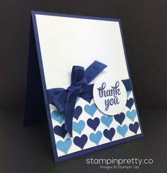 Inspired Happy Heart Thank You Card!