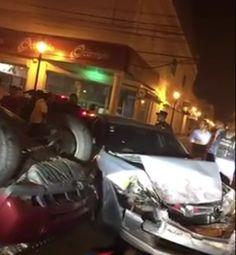 Vehículo del Merenguero Fernando Villalona sufre aparatoso accidente en santiago