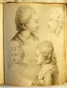 Anonymous sketchbook of the mid-eighteenth century