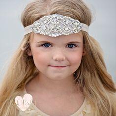 Rhinestone Headband, Flower Girl Headband, Crystal Headband, Bridal Headband, Gatsby Headband, Bling Headband, Wedding Headband by pinkperfectshop on Etsy https://www.etsy.com/listing/269769266/rhinestone-headband-flower-girl-headband