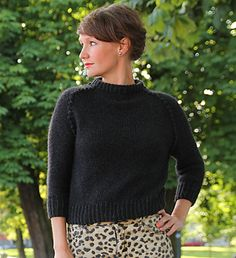 Ravelry: Pearly Sweater pattern by Anna & Heidi Pickles